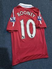 Manchester United 2010/2011 Home Jersey ROONEY S Nike Vintage Authentic