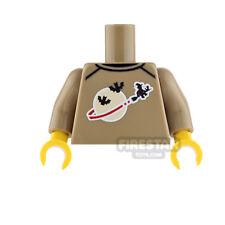 LEGO Minifigure Custom Printed Torso - Classic Space Halloween Jumper