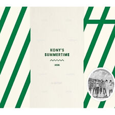 iKON-[KONY'S SUMMERTIME] 2DISC+POSTER+300p Photo Book+Travel Pouch+Special Goods