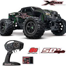 Traxxas 77086-4 X-Maxx 8S 4WD Brushless Monster Truck w/TSM /Radio Green/Black
