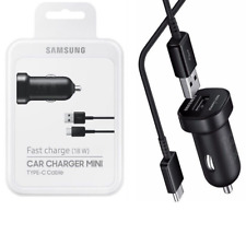 Original Samsung USB-C TYP-C KFZ Auto Ladekabel Ladegerät EP-LN930 A6 A8 S8+ S9+