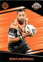 ✺Mint✺ 2020 WESTS TIGERS NRL Card BENJI MARSHALL Best & Less