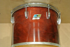 """1970s/80s Ludwig 14"""" NATURAL RED MAHOGANY TOM for YOUR DRUM SET! LOT #E141"""