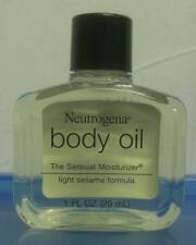jlim410: Neutrogena Body Oil (Light Sesame Formula), 29ml travel size