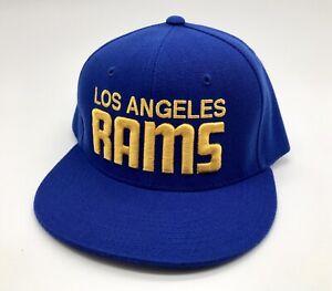 NFL Los Angeles Rams L.A. Rams Snapback Hat - Royal