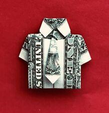 New ListingOrigami Shirt & Tie, A Carefully Folded Crisp 1 Dollar Bill. Many Sold