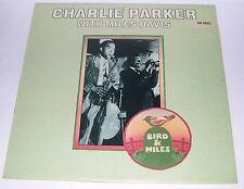 Charlie Parker with Miles Davis - Bird & Miles LP 1975 RARE MONO.