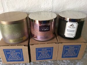 Bath and body works Candle Large 3 Wick