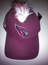 add3e61a3 Arizona Cardinals Reebok Maroon Embroidered Spike Flex Fit Cap NWT NFL NFC  South
