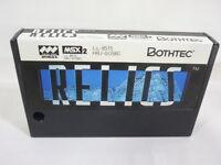 MSX RELICS Cartridge MSX2 Import Japan Video Game msx Cart
