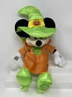 """Minnie Mouse Halloween Plush Stuffed Animal Witch Disney Store Authentic 15"""""""