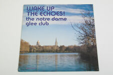 Wake Up The Echoes! The Notre Dame Glee Club JPJ 8653, 1975 LP, NEW! SEALED!