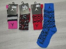 Nike Air Jordan Jumpman Mens Dress Crew Socks Lot ~~4 Pairs~~