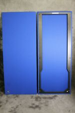 New listing Two New Jbl L222 Oracle Speaker Grilles 15 Fabric Color Choices New Jbl Badges