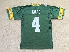 Vintage Reebok Green Bay Packers BRETT FAVRE jersey men M Medium Rodgers