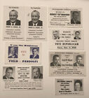 Lot Vintage Local Election Political Candidate Campaign Vote For Elect Re-Elect