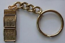 Future primitive Marshal Stack amplifier 24k Gold plated Key chain 4cm