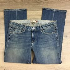 Paige Laurel Canyon Crop Women's Jeans Size 30 NWOT Fit W32 L24.5 (T4)