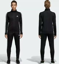Adidas Womens WTS Team Sports Track Suit Jacket Pant 3 Stripes DV2431 SZ M New!!