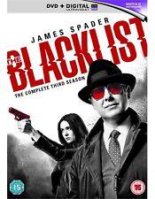The Blacklist - Season 3 [DVD] UK Region 2 New Sealed - James Spader