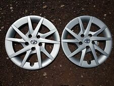 "1 Pair of 2 Brand New 2012 2013 2014 2015 Prius 16"" Wheel Covers Hubcaps 61165"