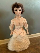 Vintage Papier mache doll 25 inches tall