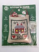 NMI 'Stitch 'n Hang Counted Cross Stitch Kit Home 1989 Art 620