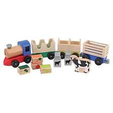 Set de tren de madera