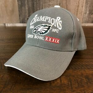 Philadelphia Eagles 2004 NFC Champions Adjustable Hat Cap **NEW WITHOUT TAGS**