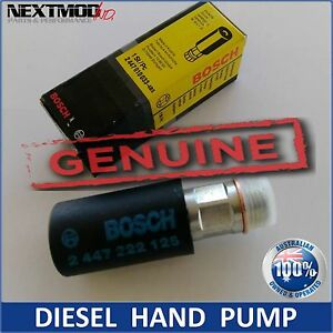 BOSCH Genuine Diesel Hand Primer Pump Oil fuel 2447222126 / 2447010038; Mercedes