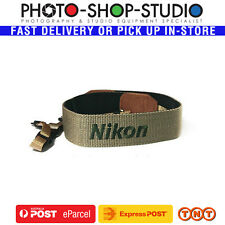 Matin Camera Strap (Nikon logo, Olive, Deluxe Joint) #M-6720