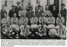WEST BROMWICH ALBION FOOTBALL TEAM PHOTO 1919-20 SEASON
