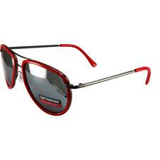 Chix Padded Goggles Gloss Black Frames Smoke Flash Mirror Lens