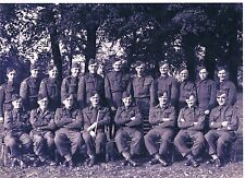 PHOTOGRAPH OFFICERS & NCO'S OF G COMPANY 11TH BATTALION SUFFOLK HOME GUARD 1944