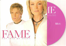FAME - pop into my heart CDS! 2TR EUROVISION 2003 RARE