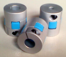 "3x High Torque High Speed 1/4-1/2"" Flexible Coupling coupler Servo step Motor"