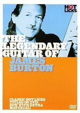 LEGENDARY GUITAR OF JAMES BURTON HOTLICKS LICK LIBRARY DVD HOT150 LEARN to PLAY