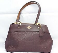 144c91dc12b73 Coach Brooke Carryal in Signature Leather Bag Brown