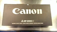 2- New Genuine Canon NP-2000 Series Black toner Cartridges F41-4401-700