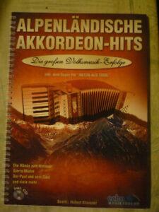 Alpenländische Akkordeon-Hits, mit CD