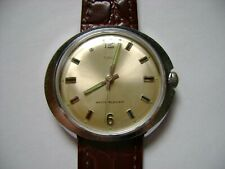 VINTAGE MEN WIND UP TIMEX MARLIN 1972  RUN AND KEEP TIME