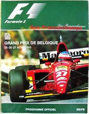 BELGIAN GRAND PRIX 1995 FORMULA 1 SPA-FRANCORCHAMPS Official Programme