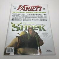 Variety Magazine Large 11x14 - FYC Shrek - March 2002