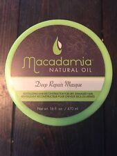 NEW Macadamia Natural Oil Deep Repair Masque (For Dry, Damaged Hair) 16oz