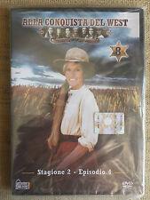 Alla conquista del West numero 8 - Stagione 2 Episodio 4 - DVD nuovo sigillato