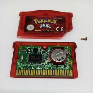 Pokemon Ruby Version - Genuine - Cart Only - Nintendo Game Boy Advance GBA
