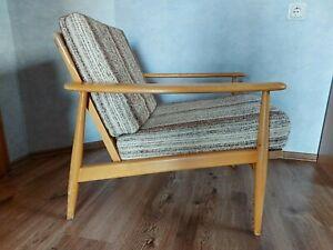 60er Sessel Relaxsessel Vintage Easy Chair Danish - Mid-Century 60s