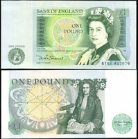 GREAT BRITAIN 1 POUND ND 1981 P 377 b ENGLAND AUNC ABOUT UNC