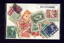 Lituanie - Lithuania 25 timbres différents
