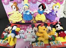 Disney Mickey,Donald,Pluto,Aristocats Marie, & Princess Clipon NEW